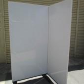 ホワイトボードスクリーン 2連 (5)