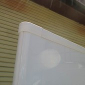 ホワイトボードスクリーン 2連 (6)